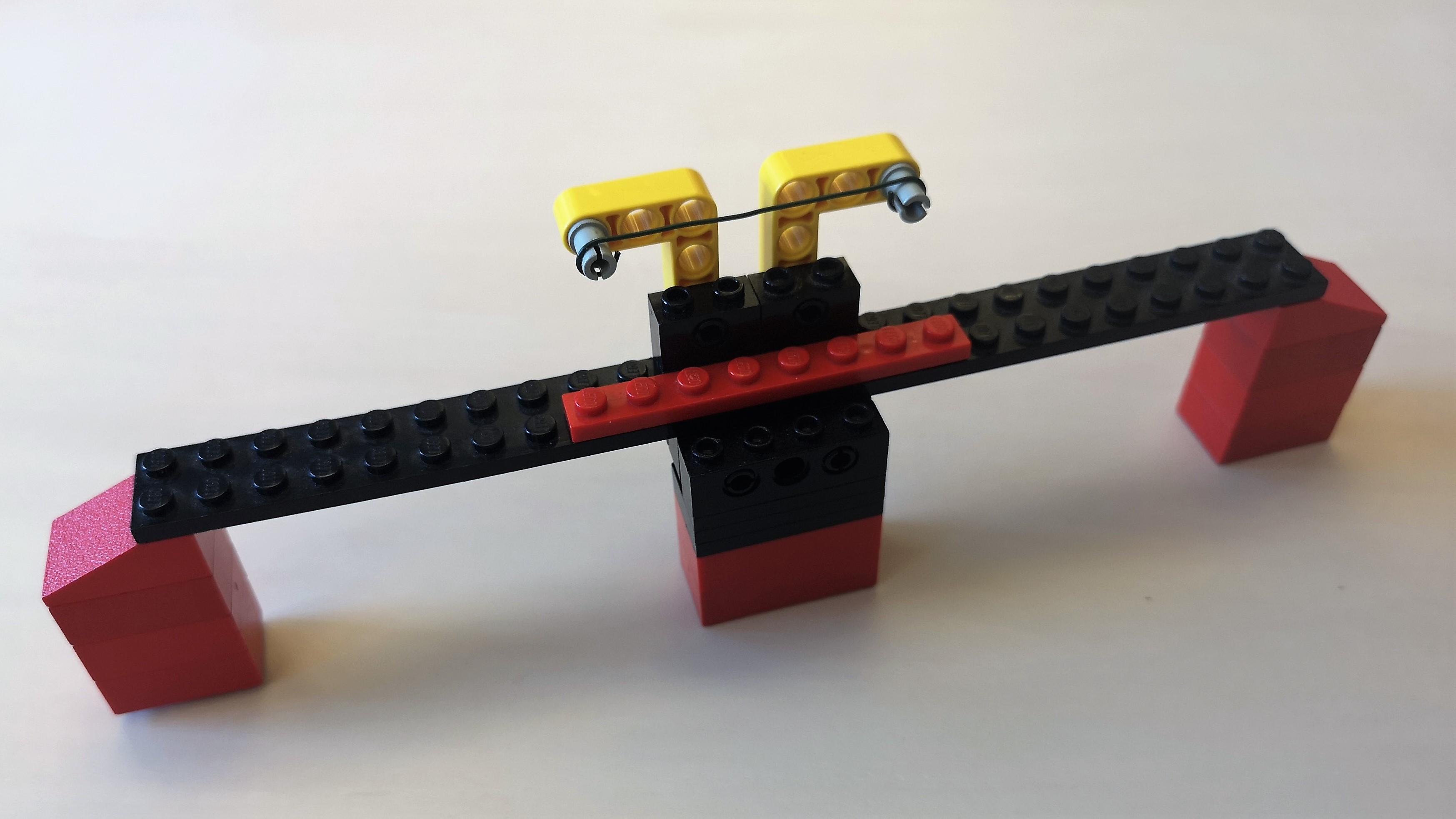 Legomodell zur Darstellung der Plastizitätstheorie